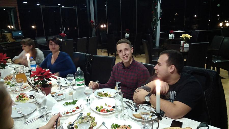 Зустріч Нового 2016 року, Шепільськ, 1 Січня 2016