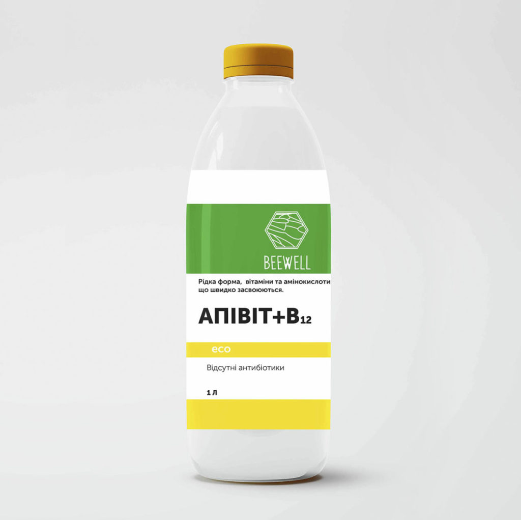 """Вітамінний комплекс для бджіл """"АПІВІТ+В12"""""""